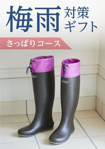 梅雨対策ギフト さっぱりコース