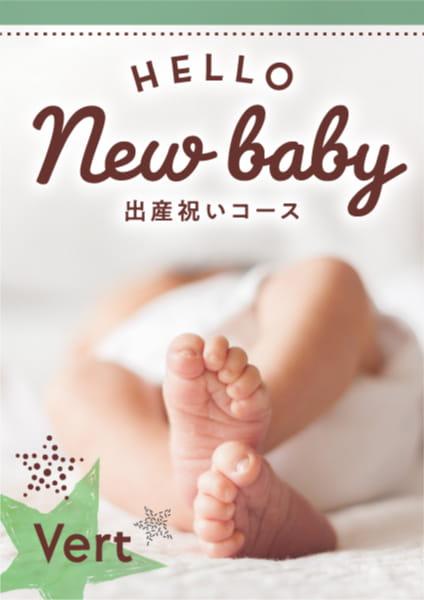 出産祝い Vert (ヴェール)コース