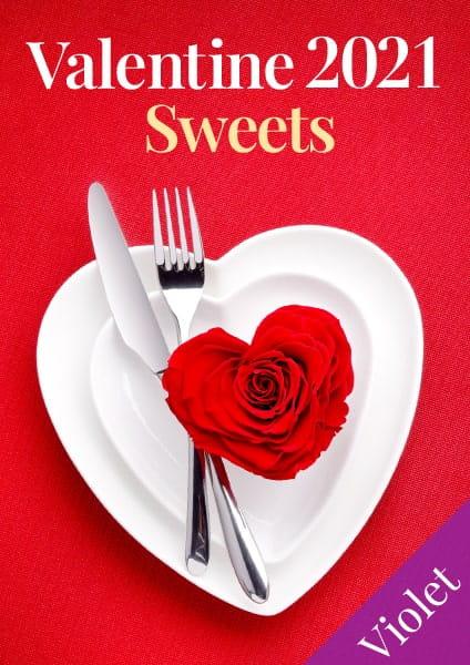 バレンタインギフト2021 スイーツセレクション Violet(バイオレット)コース