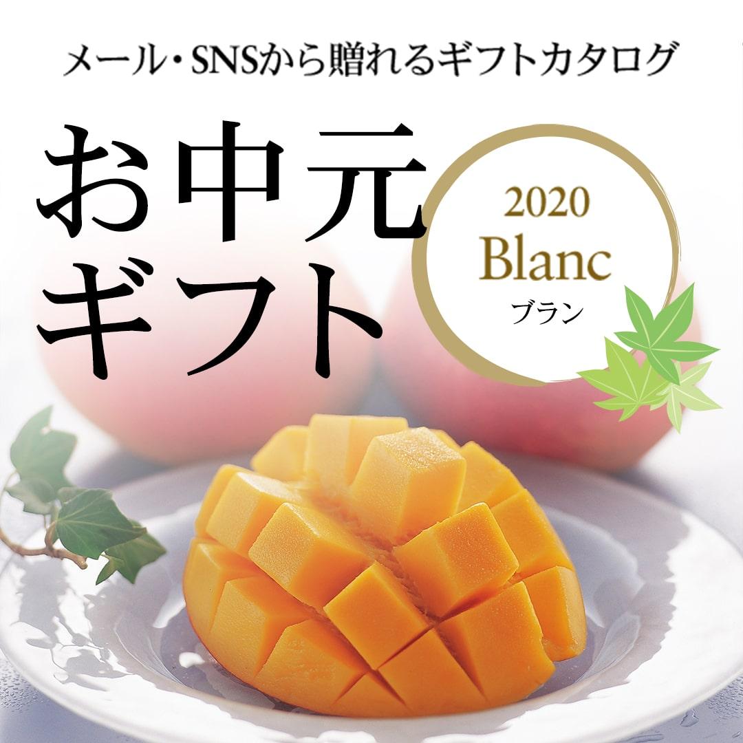 お中元ギフト2020 Blanc(ブラン)コース
