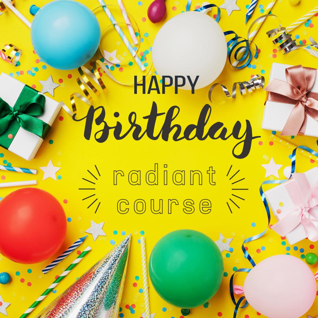 誕生日 radiant(ラディアン)コース