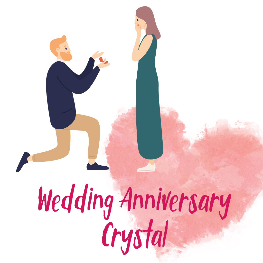 Wedding Anniversary Crystal(クリスタル)コース