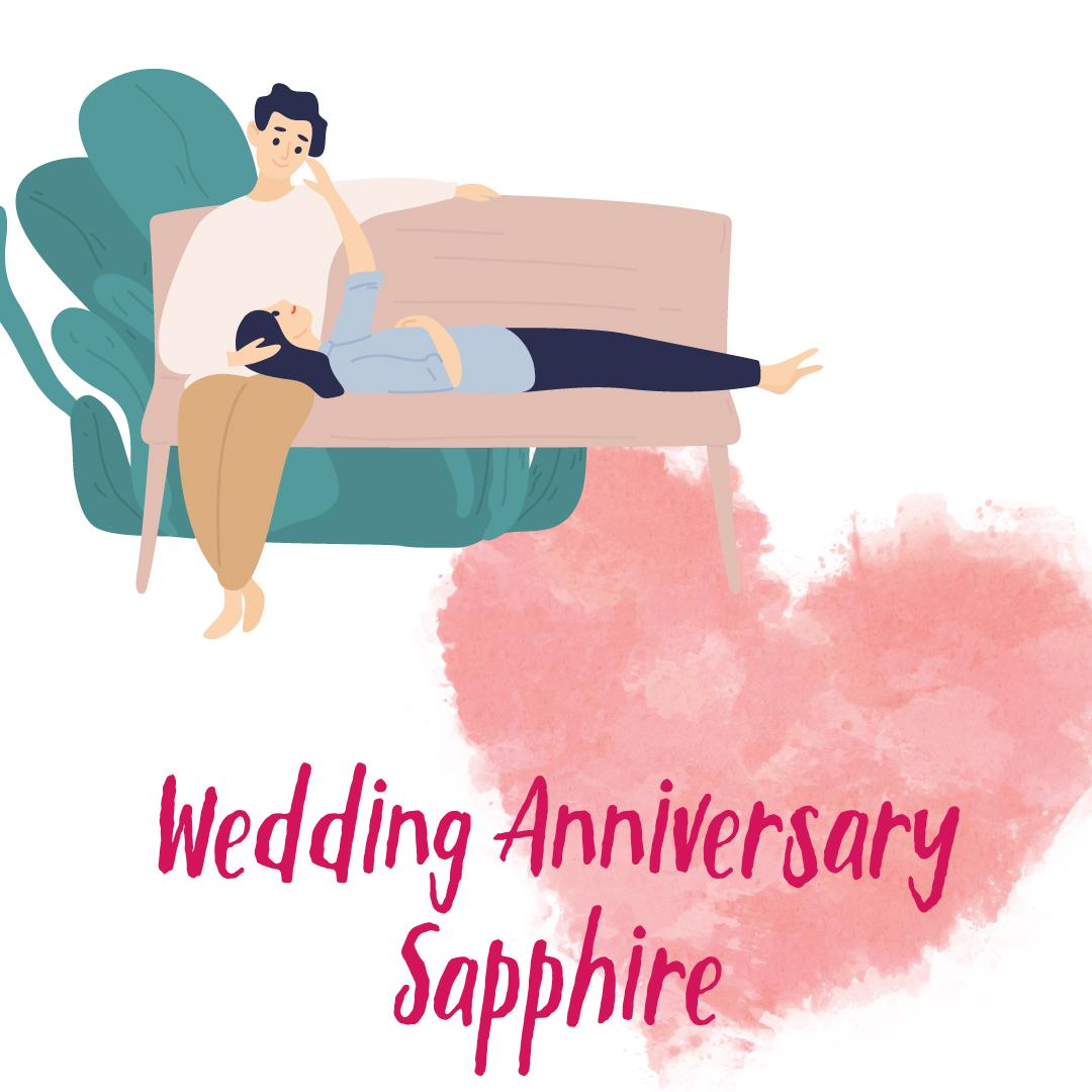 Wedding Anniversary Sapphire(サファイア)コース