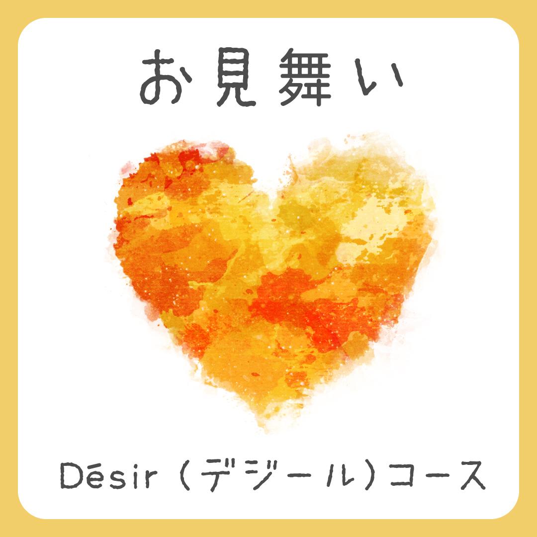 お見舞い Désir(デジール)コース