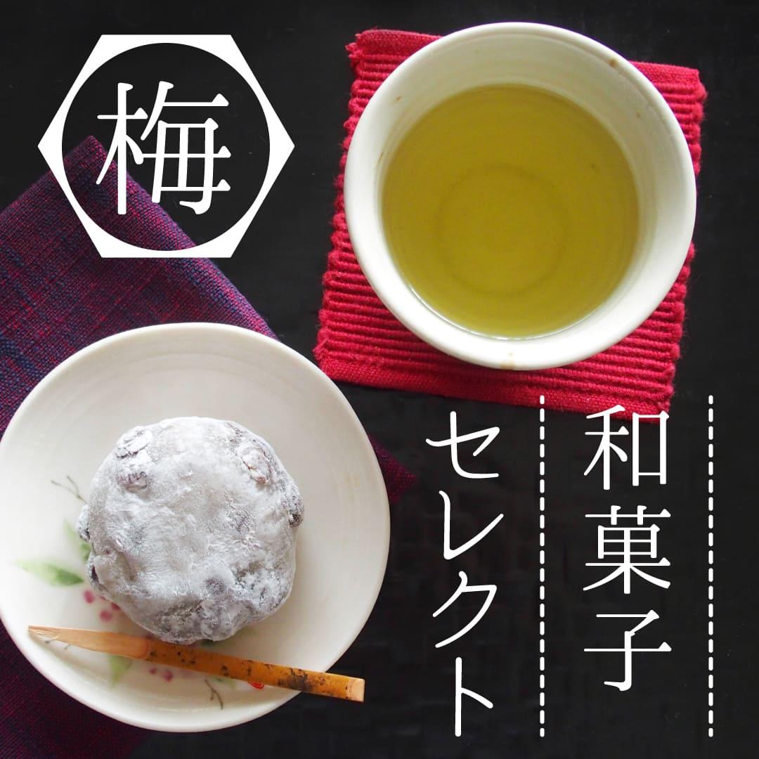 手土産やお礼に 和菓子セレクト 梅コース