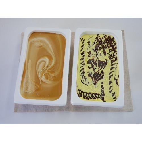 ロッテアイス業務用2,000ml(チョコバナナ、キャラメルミルク)