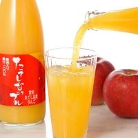 たてしなップル 果肉入りりんごジュース(ふじ・千秋)