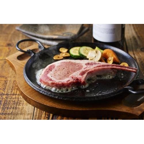 イベリコ豚プレミアム骨付きロースステーキ