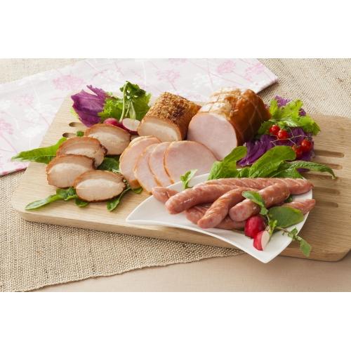 三重 伊賀上野の里 つるし焼豚&ロースハム&ウインナー詰合せ