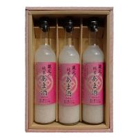 亀田屋酒造 甘酒3本セット