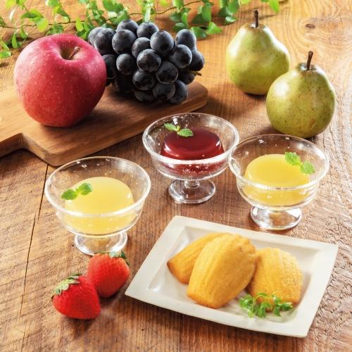 丸大食品 素材派宣言国産フルーツのデザートセット SHW-30