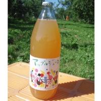 りんごジュース(2本)+季節のドライフルーツ1袋