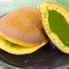 【贅沢和菓子】むらちゃどら焼きセット(抹茶・ほうじ茶)