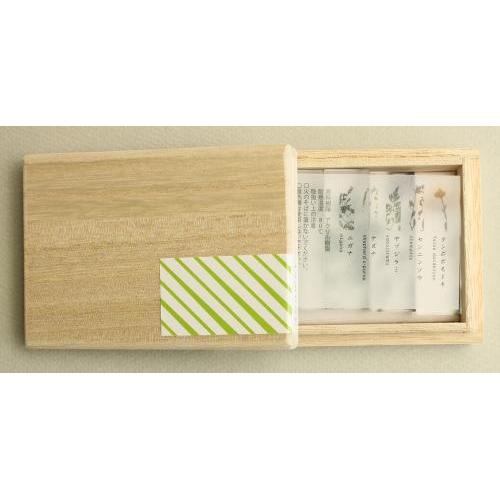 押花はしおき木箱セット (a) + カトラリーレスト ×2