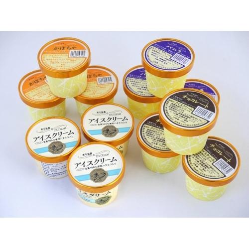 東毛酪農アイスクリーム 12個セット