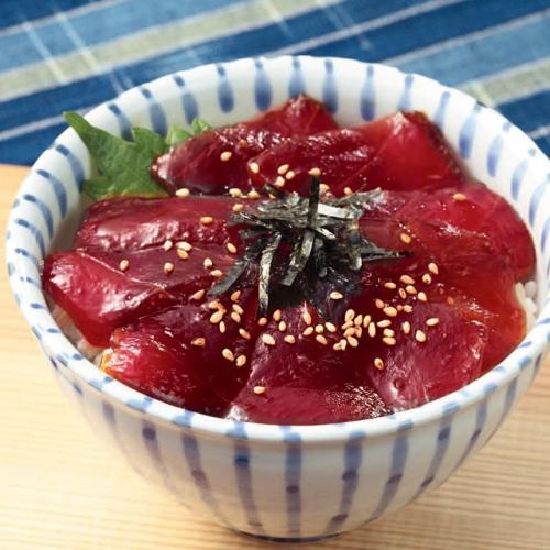 <静岡・カネトモ> めばちまぐろ丼セット
