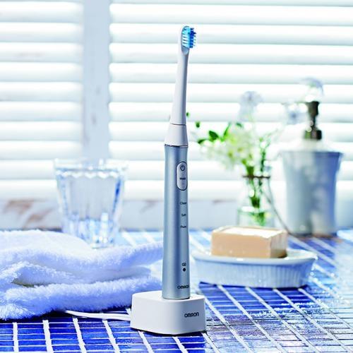 音波式電動歯ブラシ シルバー
