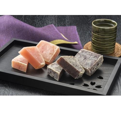 北海道産小豆と余市産りんごの金つば10個セット
