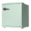 1ドア レトロ冷蔵庫 48L ライトグリーン