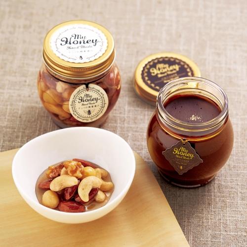 「MY HONEY」ナッツの蜂蜜漬け&ハニーショコラ
