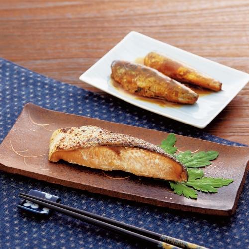 「活黒」煮魚・味噌漬焼