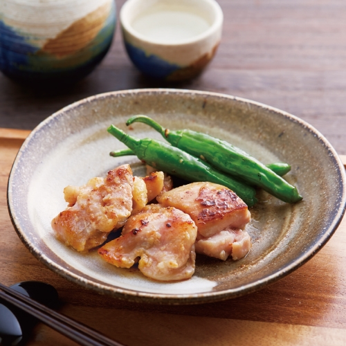 「京料理・六盛」鶏肉の塩麹漬け