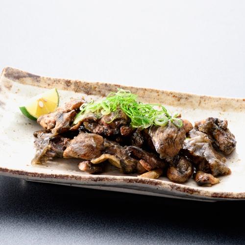 【のまえ】JIMONO「やわらかほたて燻油漬・地頭鶏の炭火焼・屋久島の鯖燻製」