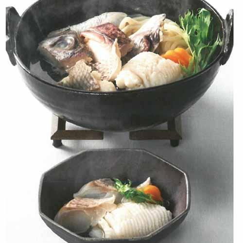 徳島 吟月 はもと鯛の鍋