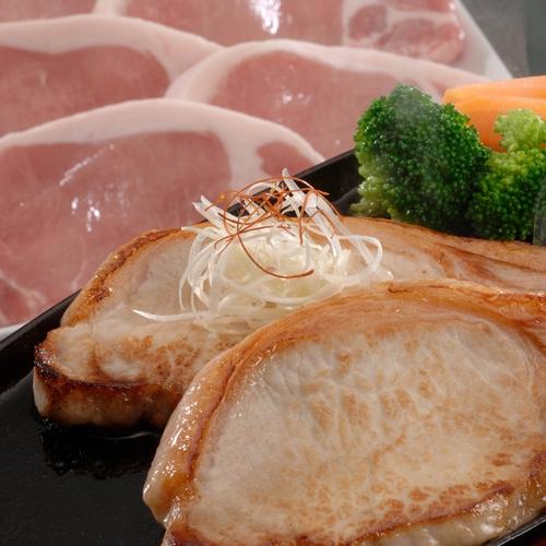 信州くりん豚ロースステーキ