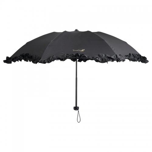 テンテン 晴雨兼用フリルミニ傘