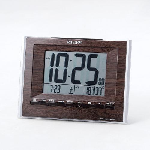 リズム デジタル電波時計 フィットウェーブ