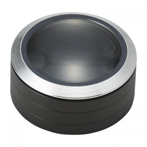 ケンコー 置いて使うLED付き卓上拡大鏡