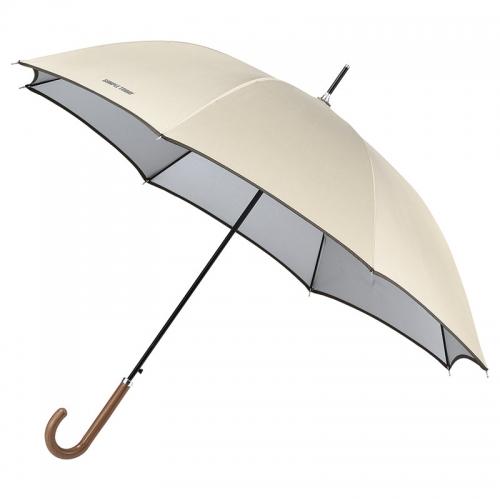 シンプルトゥディ 晴雨兼用ジャンプ長傘(ベージュ)