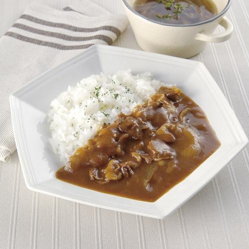 淡路島たまねぎをたっぷり使ったビーフハヤシ&オニオンスープ