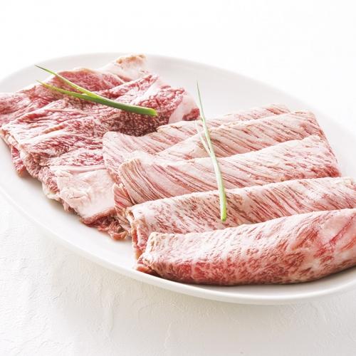 北海道和牛・白老牛肩ロースすき焼き