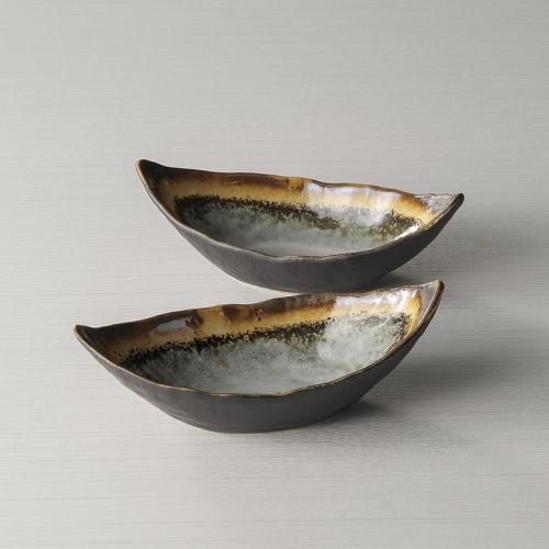 舟形小鉢ペア