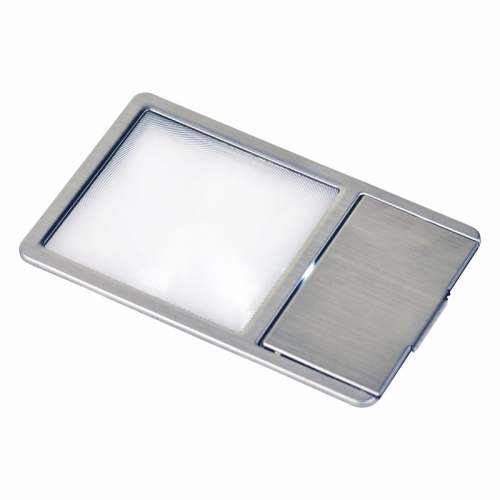 ケンコー・極薄カード型LED付き拡大鏡