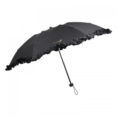 テンテン・晴雨兼用フリルミニ傘