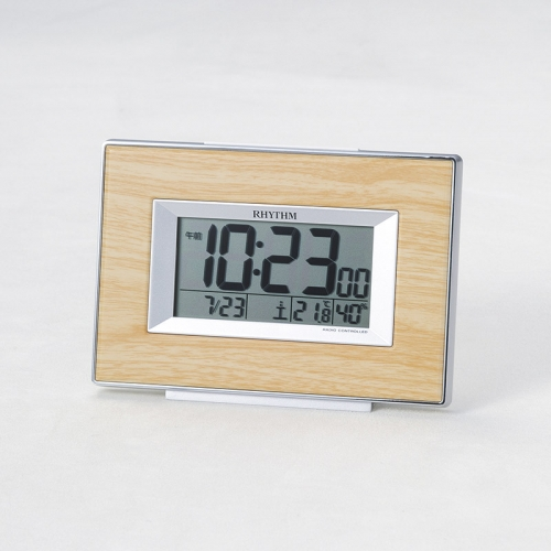 リズム・デジタル電波時計 フィットウェーブ