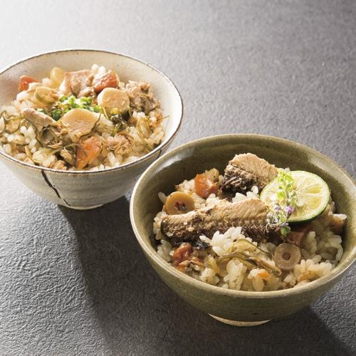 北海道産素材炊き込みご飯の素4種