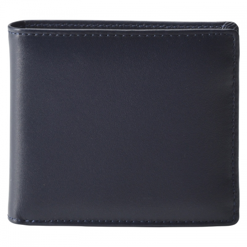 イルムス・二つ折財布 ネイビー