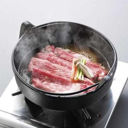 北海道かみふらの和牛すき焼き