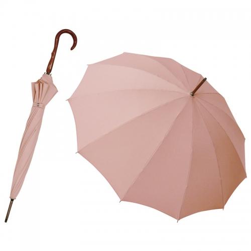 〈匠〉有村・職人の手作り 和風12本骨晴雨兼用傘 牡丹(ボタン)