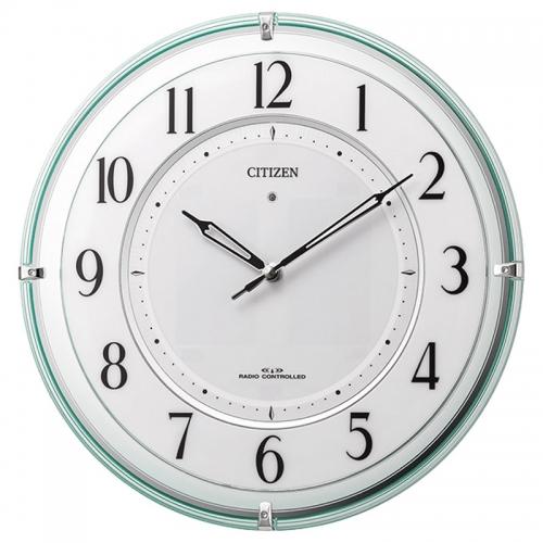 シチズン・ソーラー電源併用式掛時計