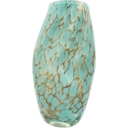 ガラス製 ハンドメイド花瓶A
