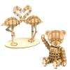 Wooden Art ki-gu-mi どうぶつセットB
