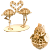 Wooden Art ki-gu-mi とりセット