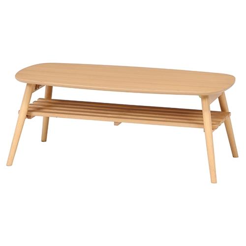 折れ脚センターテーブル ノルン 6310-19SKV NA