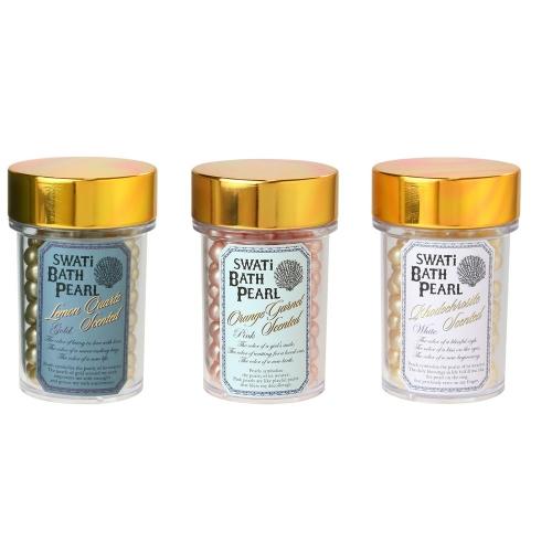 入浴剤「バスパール」SWATi BATH PEARL(M 52g) 3種各1(計3個)