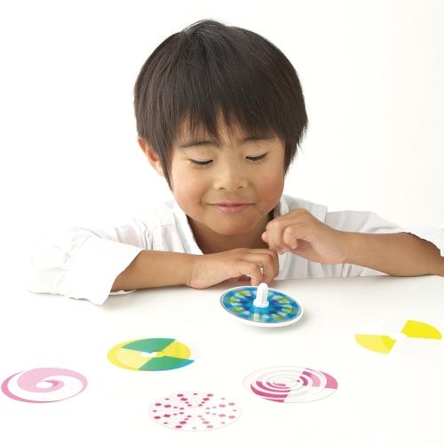 【体験型知育玩具】色を学べるコマ(いろコマ)